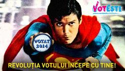 Superman votează!