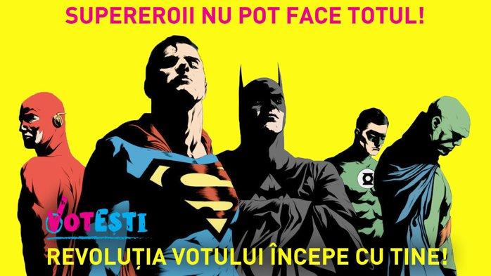 Super-eroii nu pot face totul!