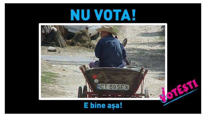 Nu vota! E bine aşa!