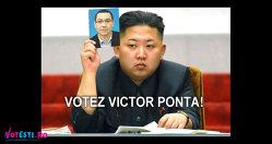 Şi el votează Victor Ponta