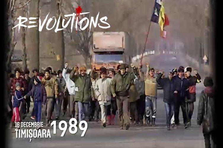 """16 decembrie 1989. Ziua în care la Timişoara s-a strigat """"LIBERTATE!"""" şi """"JOS CEAUŞESCU!"""". Începuse Revoluţia"""