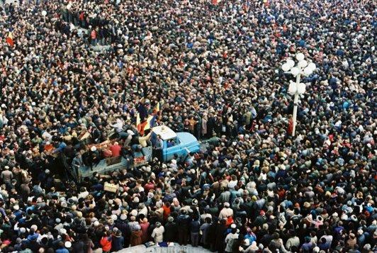 Revoluţia din 1989, la Timişoara, în imagini