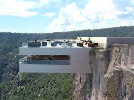 Unul dintre cele impresionante baruri din lume. Copper Canyon Cocktail Bar se va deschide la mare înălţime, pe o stâncă
