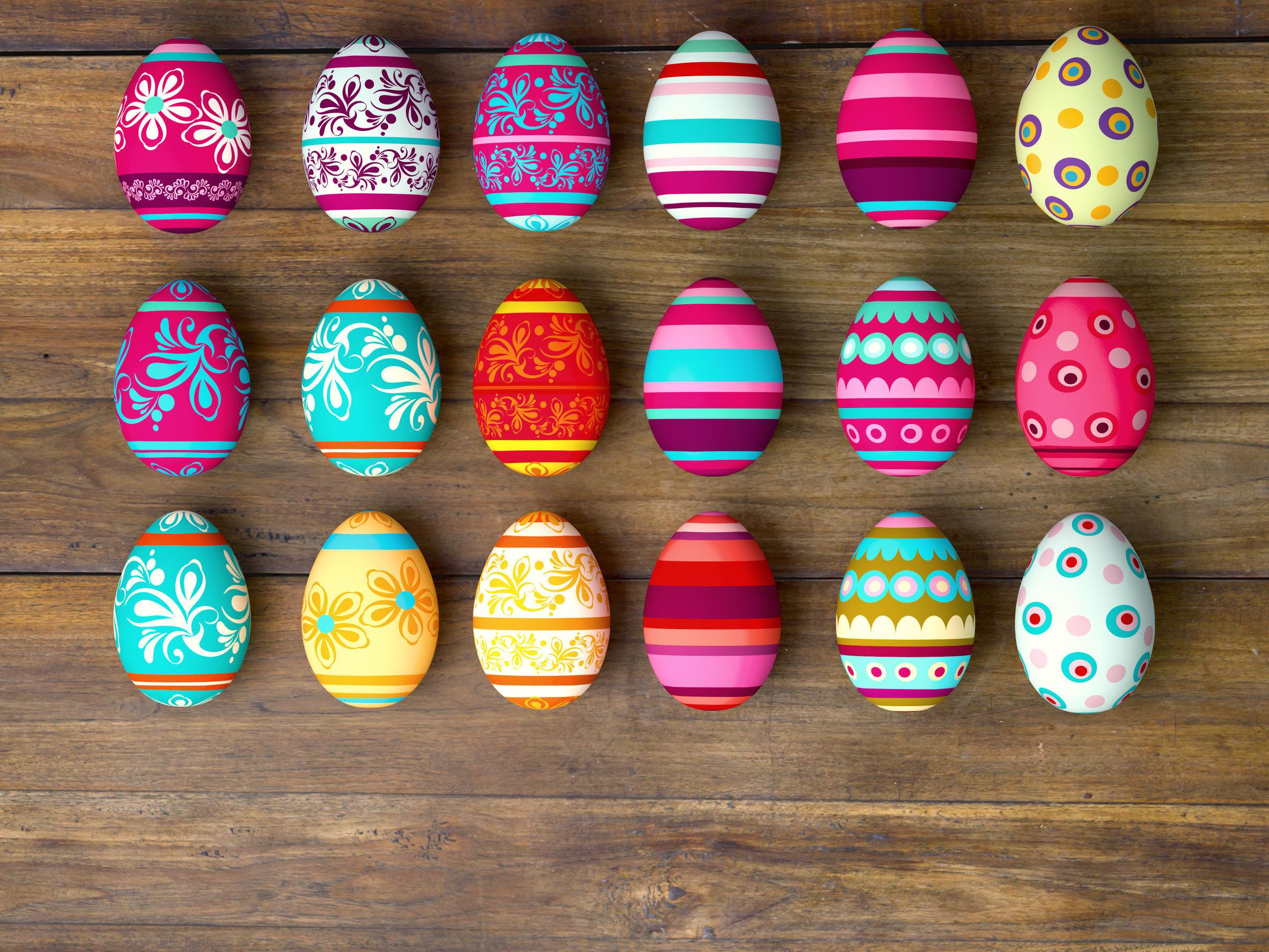 Invenţia care vopseşte rapid cele mai frumoase ouă de Paşte