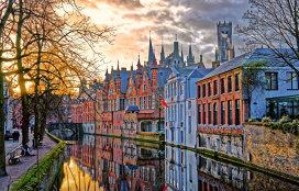 Bruges, oraşul cu prima conductă de bere din lume