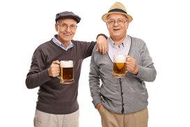 Studiu. După 90 de ani, alcoolul este mai bun decât sportul