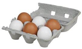 Care este diferenţa dintre ouăle cu coajă albă şi cele cu coajă maronie?