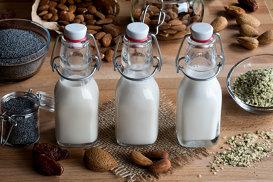 6 alternative vegetale la laptele de vacă