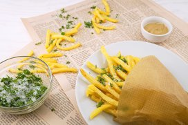 Cum faci acasă cartofi prăjiţi ca la restaurant?