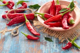 Alimentele picante, din antichitate până în prezent. Efectele asupra creierului