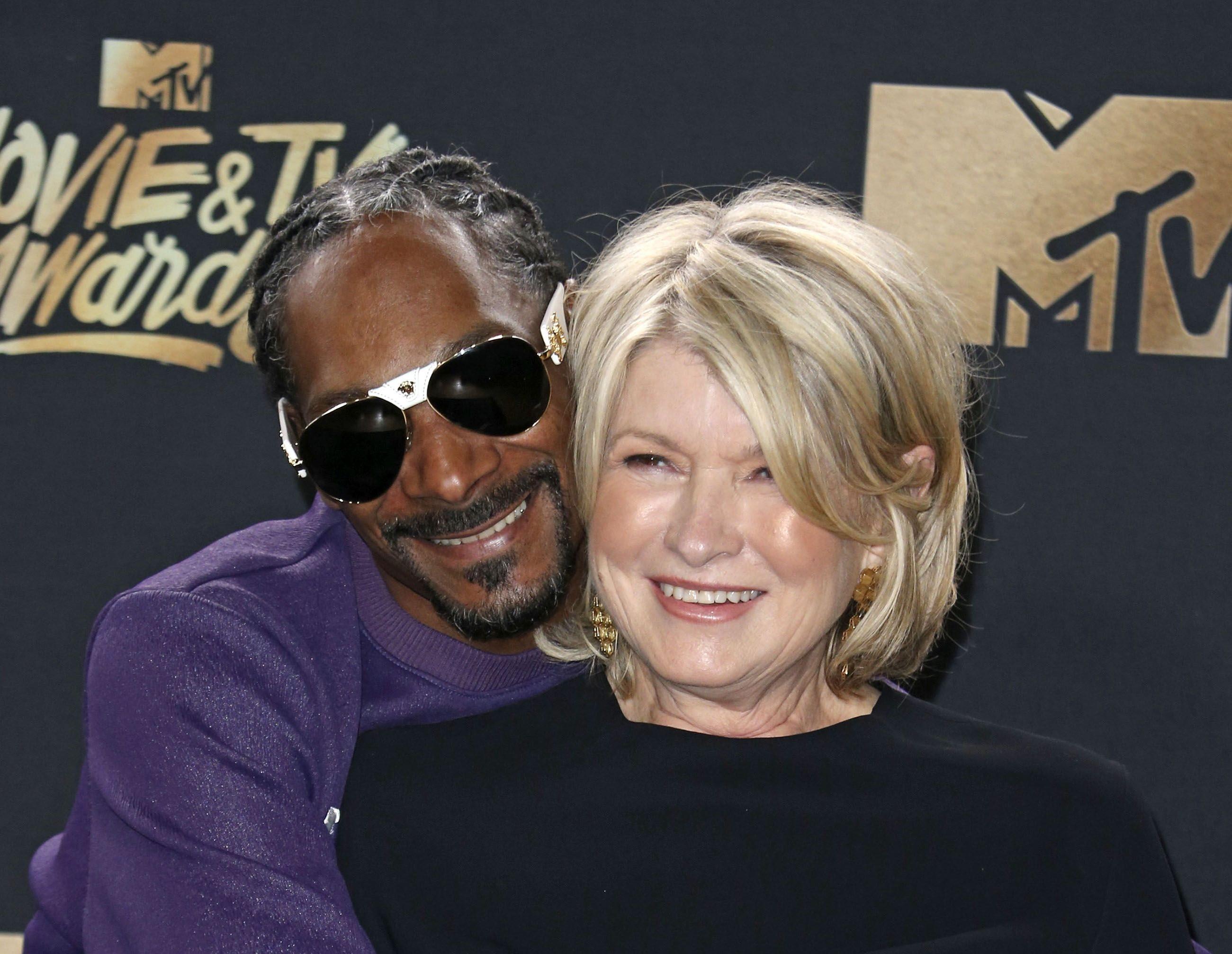 Martha Stewart şi Snoop Dogg au recreat o scenă dintr-un film celebru