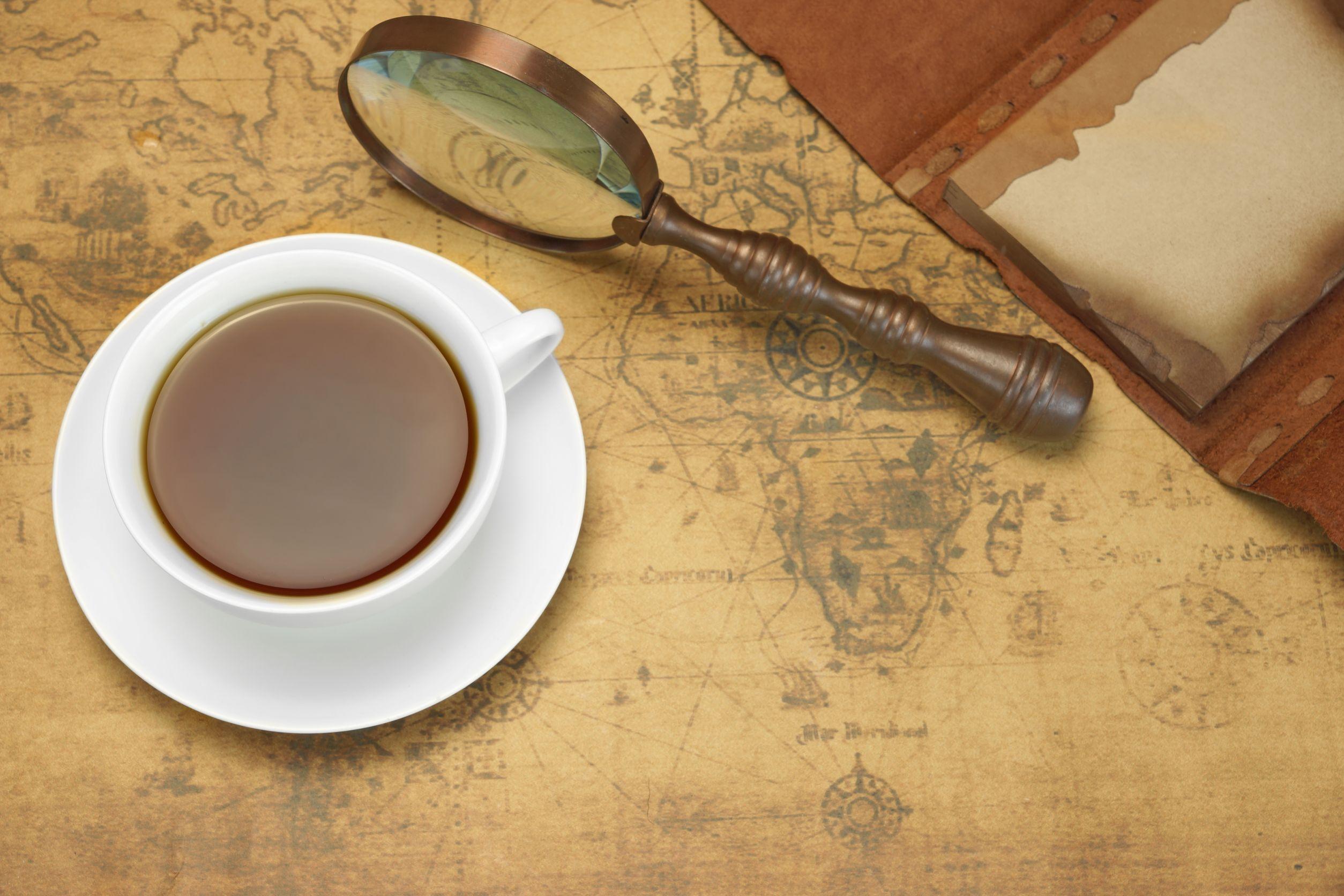 Cu ceaşca de ceai în jurul lumii