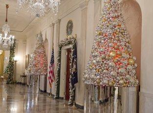 Spectaculos. Cum a decorat Michelle Obama Casa Albă. Galerie foto
