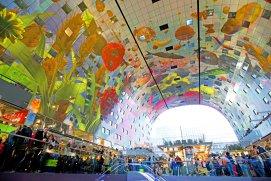 Capela sixtină olandeză sau cea mai spectaculoasă piaţă din lume. Rotterdam, unul dintre cele mai în vogă oraşe în 2017