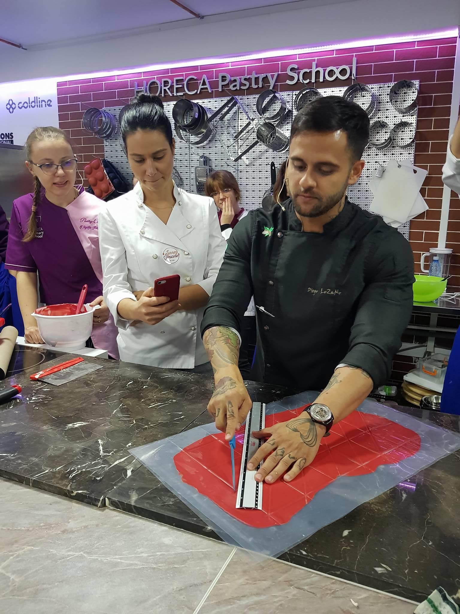 Chef Diego Lozano, un rock star al cofetăriei care s-a îndrăgostit de cozonac
