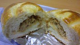 Pâine cu ton şi brânză gruyere