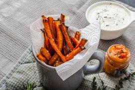 Morcovii, vedete în cinci reţete delicioase