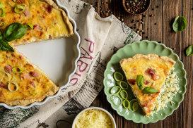 Quiche Lorraine, de la kuchen la clasicul din bucătăria franţuzească