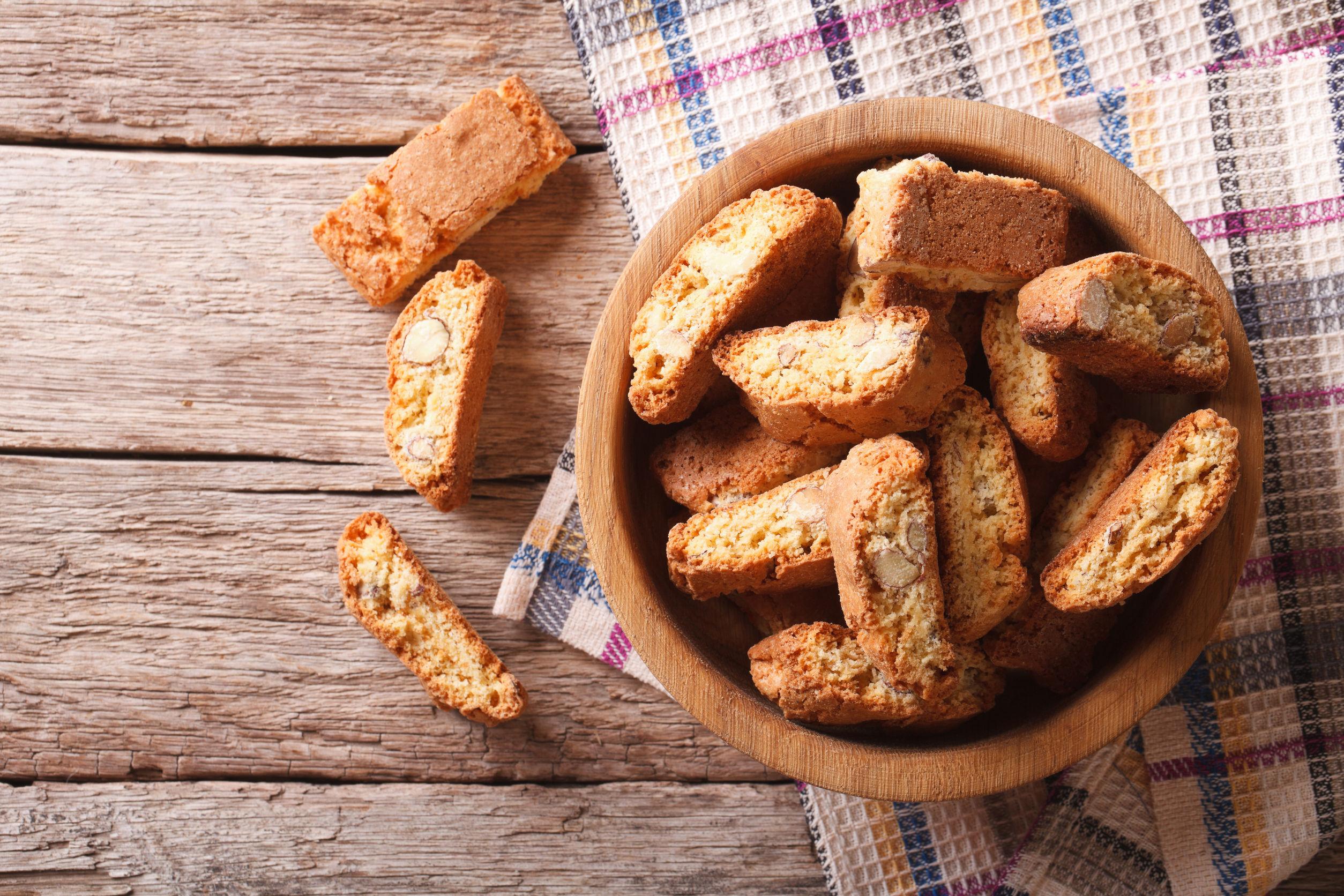 Biscotti cu migdale