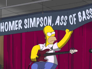 Şanse mari pentru Homer Simpson să devină basist la Meshuggah