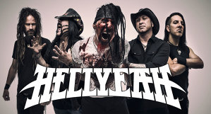 Video Premiera: Hellyeah 'Love Falls'