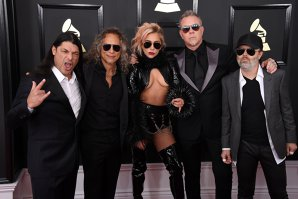 Cum a cântat Metallica cu Lady Gaga la Grammy Awards