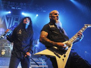 Concertul Anthrax din Glasgow, Marea Britanie, din 15 februarie, va apărea pe DVD