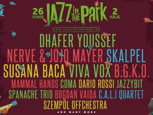 Jojo Mayer & Nerve, Skalpel, Dario Rossi şi alte 4 noi concerte confirmate pentru Jazz in the Park Festival 2017