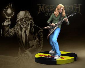 Statuete cu Dave Mustaine şi mascota Megadeth, Vic Rattlehead, vor apărea la vânzare în această toamnă