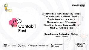 1 iunie: Caritabil Fest, Expirat – Halele Carol