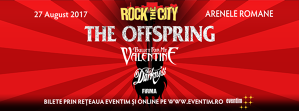 Rock the City 2017: The Offspring, Bullet For My Valentine, The Darkness, Firma