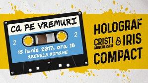 Holograf, Iris alaturi de Cristi Minculescu şi Compact, trupele legendare ale rockului românesc, vor cânta din nou pe aceaşi scenă, într-un spectacol de 5 ore.