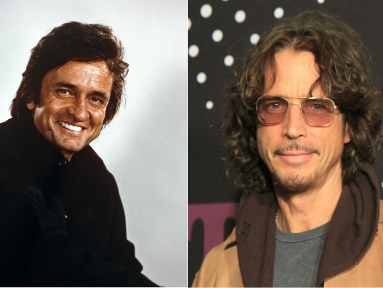 Chris Cornell o să apară pe un viitor album Johnny Cash
