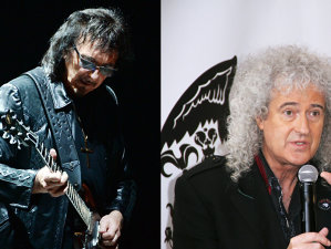Colaborare istorică între chitariştii Queen şi Black Sabbath