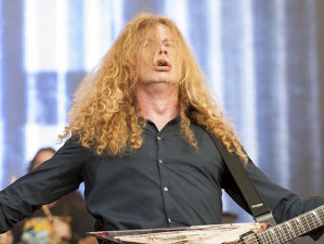 Liderul Megadeth, Dave Mustaine: