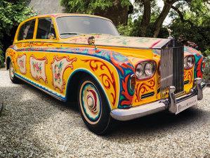 Rolls-Royce-ul psihedelic al lui John Lennon va fi expus într-o expoziţie din Londra