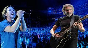VIDEO: Vocalistul Pearl Jam, Eddie Vedder a cântat cu Roger Waters,
