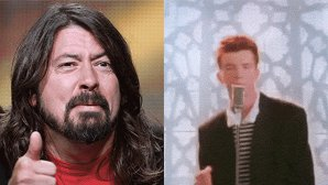 "VIDEO: Foo Fighters a cântat live ""Never Gonna Give You Up"" cu Rick Astley"