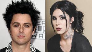 Billie Joe Armstrong de la Green Day şi Kat Von D lansează împreună un tuş pentru ochi
