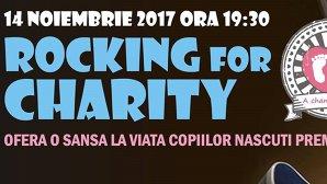 Un eveniment caritabil dedicat copiilor născuţi prematur, Rocking for Charity, are loc într-un club din Bucureşti 14 noiembrie