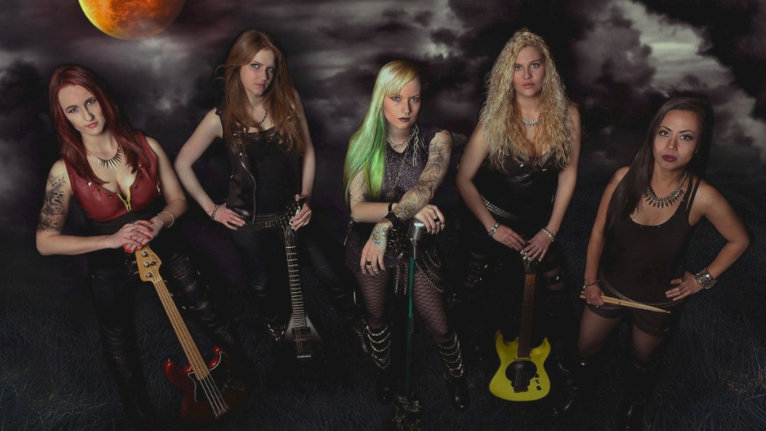 "VIDEO: Elveţiencele Burning Witches au lansat noul clip, ""Black Widow"""