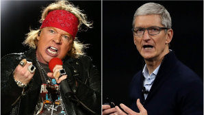 "Axl Rose, vocalistul Guns N' Roses, despre şeful Apple: ""Este un Donald Trump al industriei muzicale"""