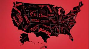 Publicaţia Kerrang! a făcut o hartă cu cea mai bună trupă metal din fiecare stat american