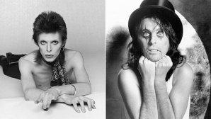 Alice Cooper povesteşte cum a luat cina cu David Bowie şi cu scriitorul Ray Bradbury