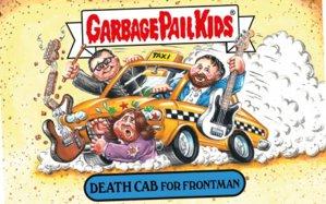 Morrissey carnivor şi Axl Rose supraponderal urmează să apară într-o nouă serie de Garbage Kids Cards