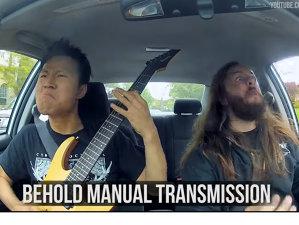 VIDEO: Vezi un clip Death Metal care te învaţă tot ce trebuie să ştii despre schimbătorul de viteză
