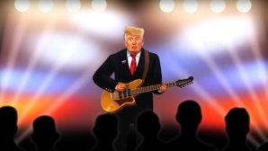 VIDEO: Trump cântă