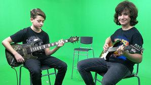 DUDI şi MATEI au venit la INTERVIURILE Rockon, să ne cânte Metallica , Megadeth şi Iron Maiden