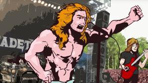 """VIDEO: Dave Mustaine povesteşte într-o animaţie povestea piesei """"Holy Wars… The Punishment Due"""""""