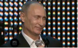 Senzaţional! Putin cântă Radiohead